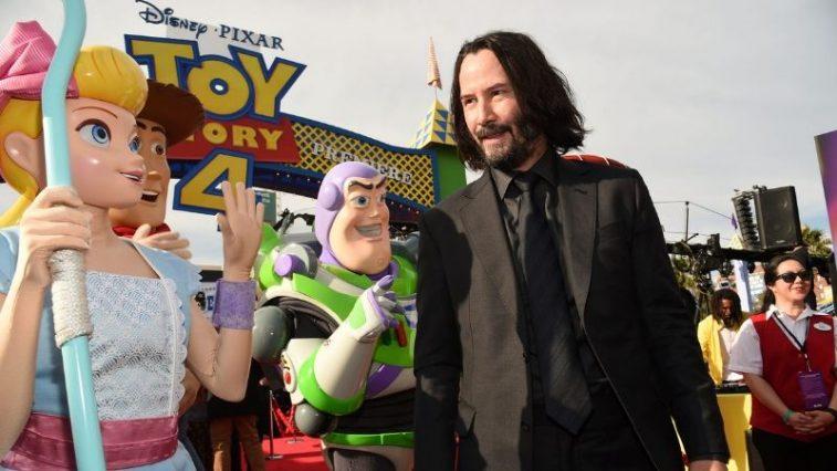 John Wick gia nhập thế giới đồ chơi trong Toy Story phần 4
