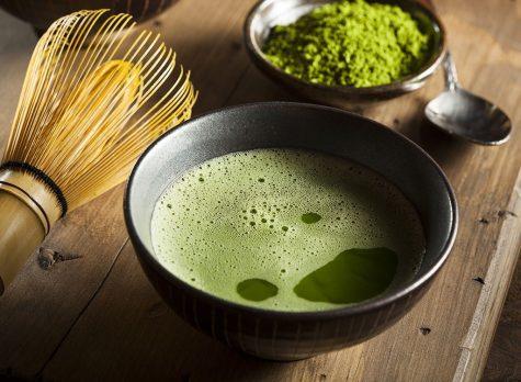 thực phẩm giảm cân trà xanh