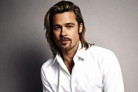 kiểu tóc nam dài của diễn viên brad pitt