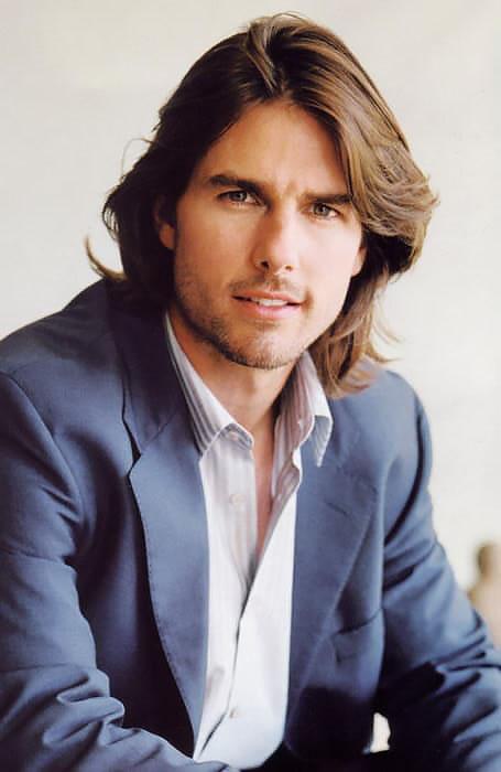 kiểu tóc nam dài của diễn viên tom cruise