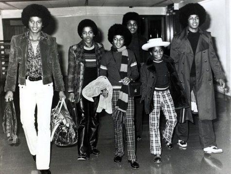 phong cách thời trang sân bay của The Jackson Five 1972