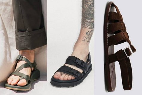 bài học phong cách thời trang tại Pitti Uomo ss20 giày sandals