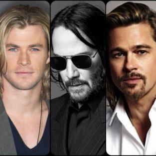 12 sao nam Hollywood sở hữu kiểu tóc nam dài quyến rũ nhất