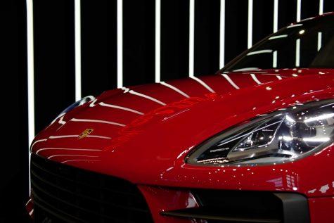 đèn xe Porsche Dynamic Light System Plus với thiết kế 3 chiều