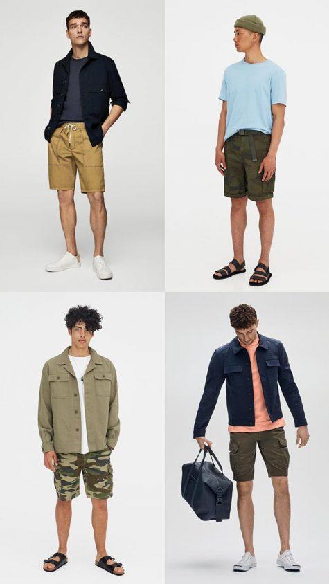 quần đùi nam cargo cho mùa hè