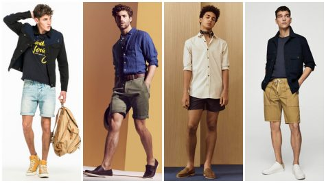 Chọn giày sao cho chuẩn với từng loại quần đùi nam?