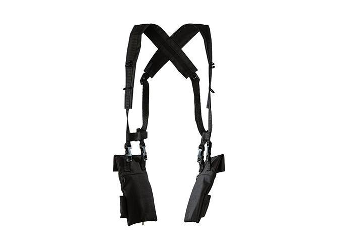 túi thời trang của hãng palmer dây đeo sau lưng và hai túi trước ngực