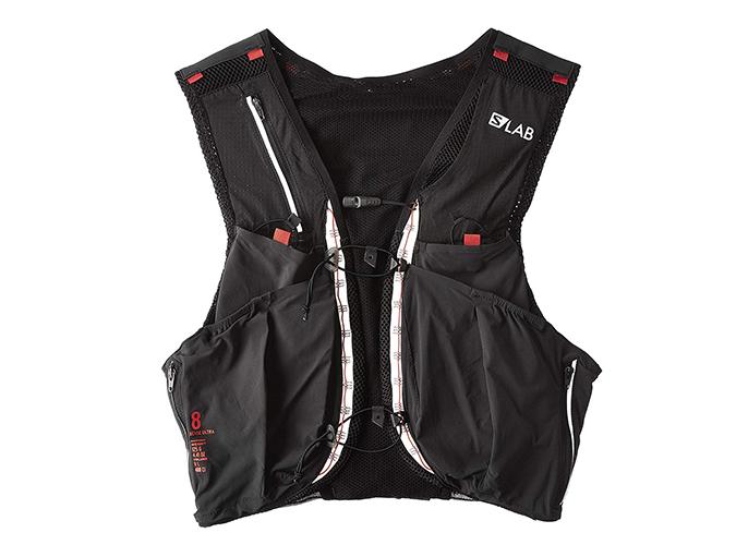 túi thời trang của hãng salomon màu đen dáng gilet