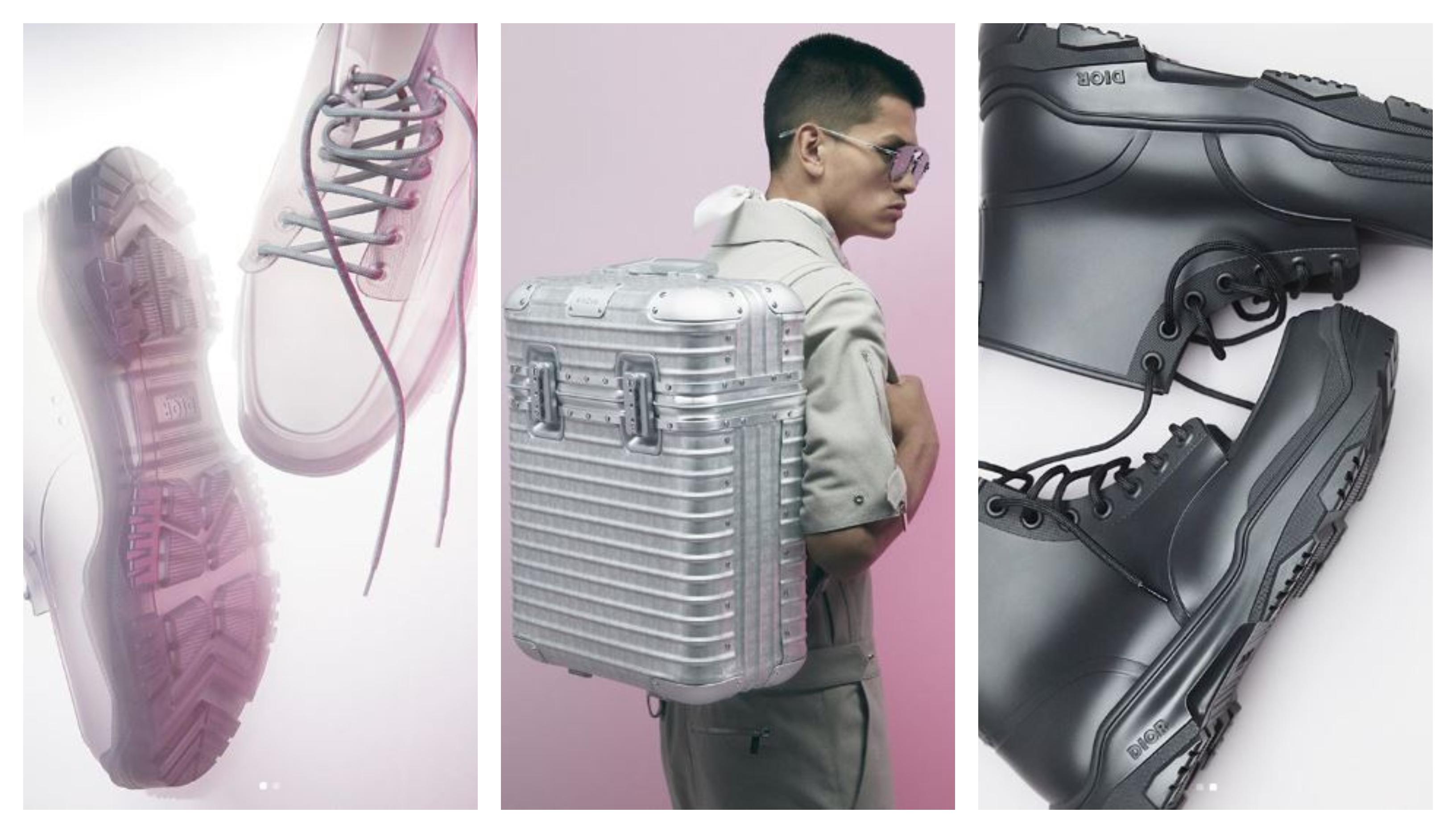 một vài thiết kế thuộc bộ sưu tập dior men hè 2020 giày thể thao