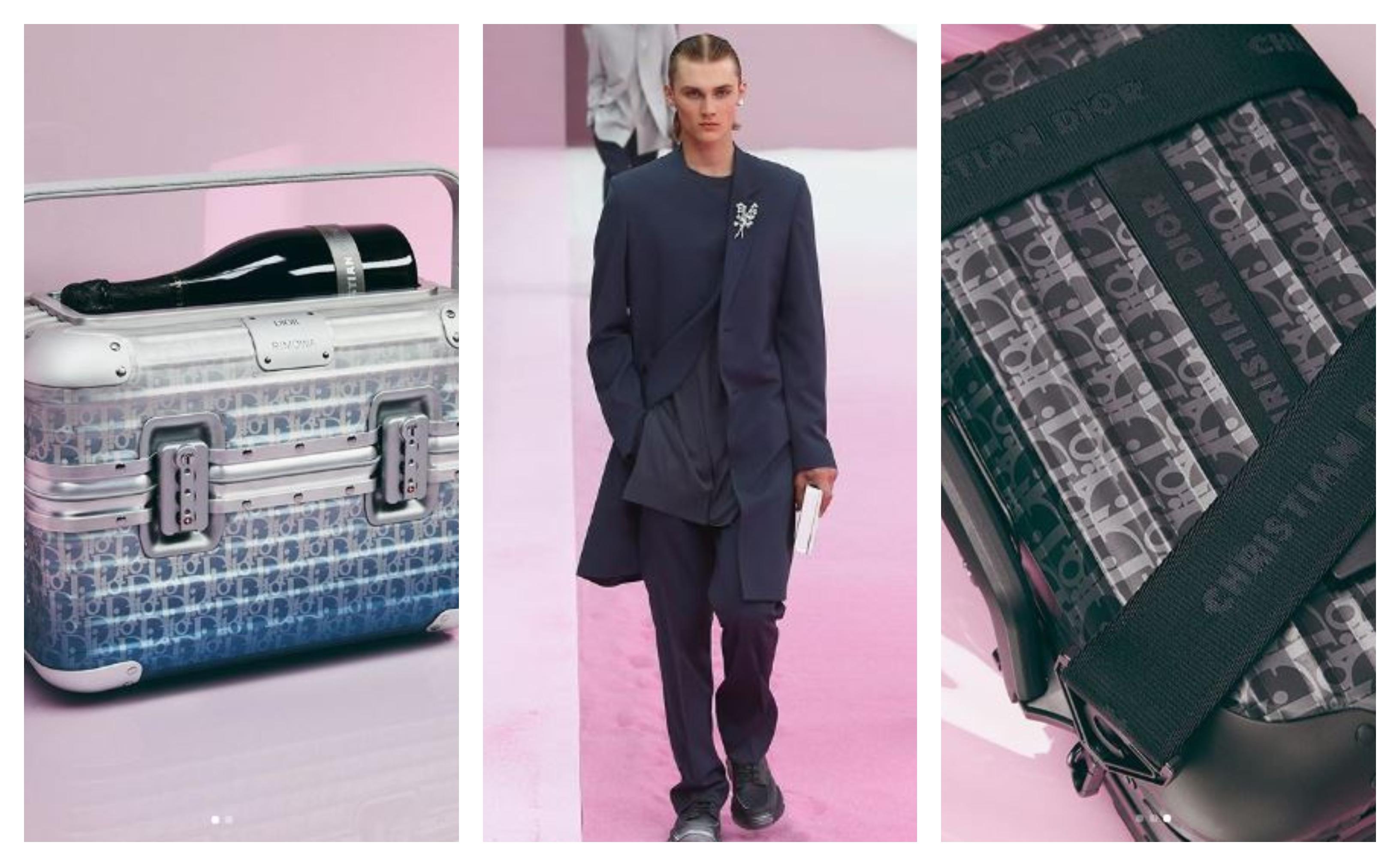 một vài thiết kế thuộc bộ sưu tập dior men hè 2020 vali