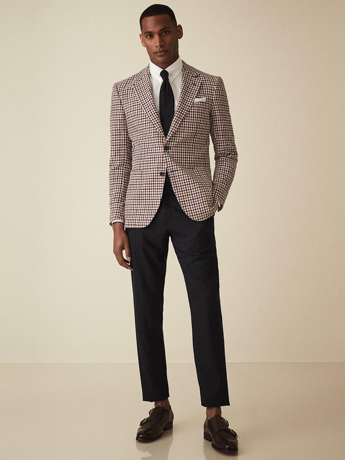 phụ kiện mùa hè-chàng trai mặc cravat len