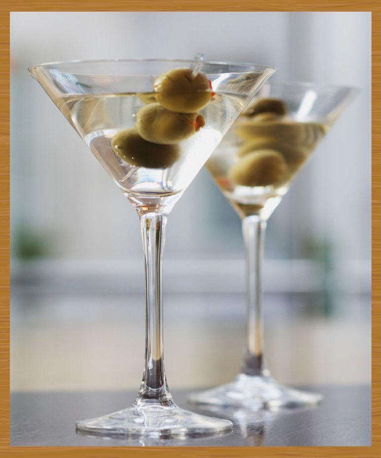 Dry Martini đồ uống ngon