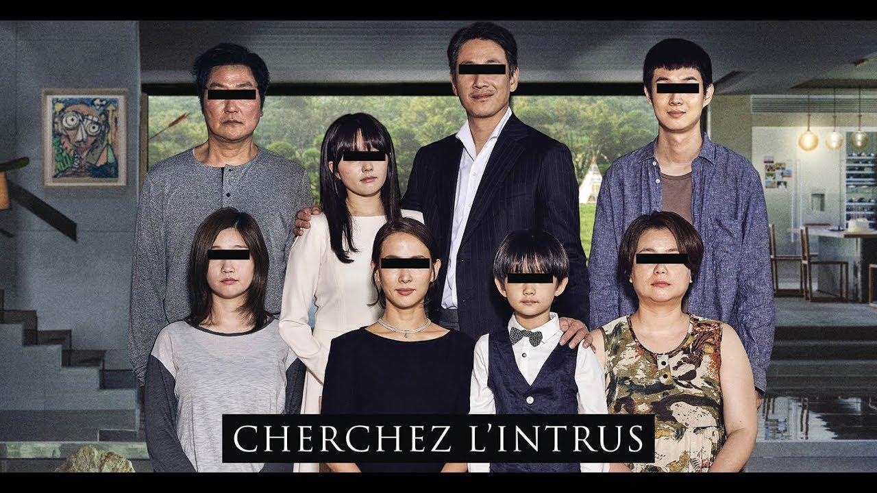 poster phim parasite đầy đủ 2 gia đình kim và park