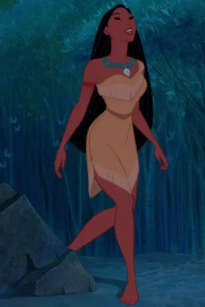 công chúa Disney Pocahontas bản hoạt hình