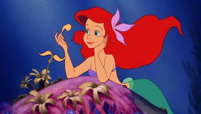 công chúa Disney ariel nàng tiên cá bản hoạt hình