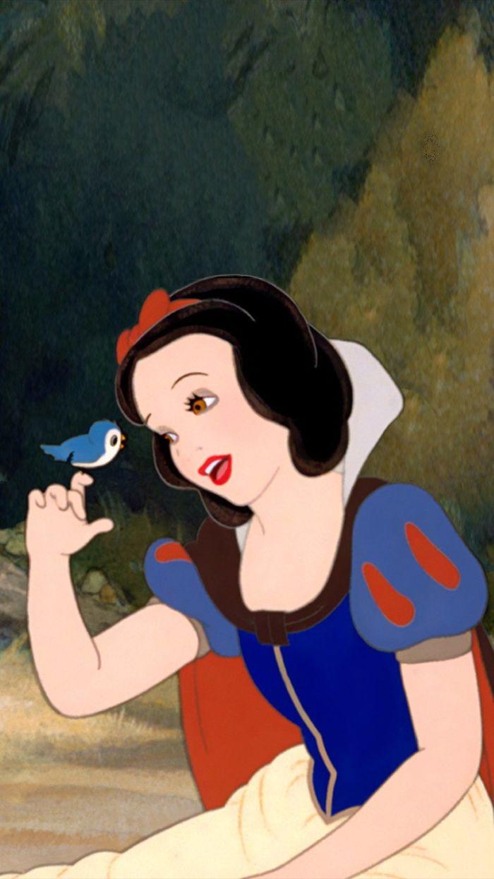 công chúa Disney bạch tuyết hoạt hình