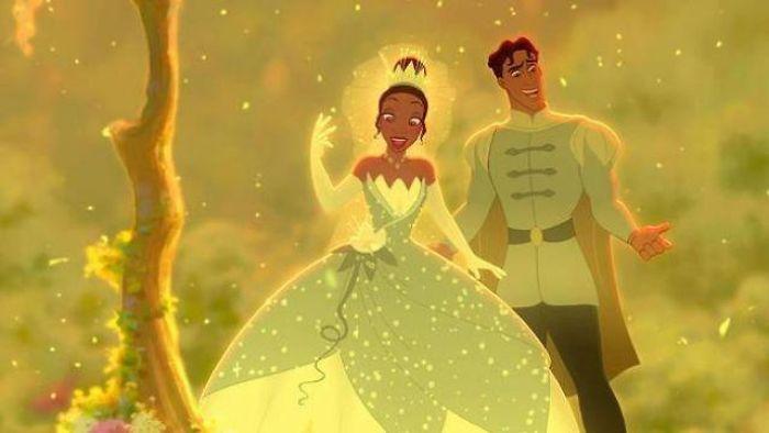 công chúa disney tiana công chúa và con cóc bản vẽ