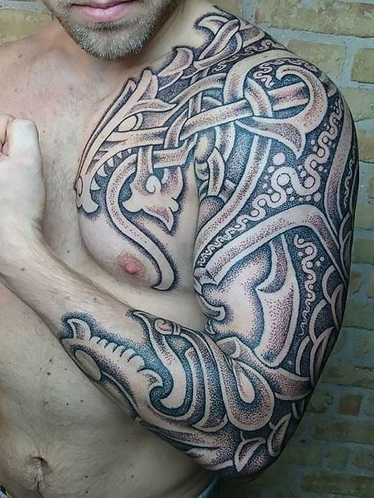 hình xăm bộ lạc-hình xăm bộ lạc Celt