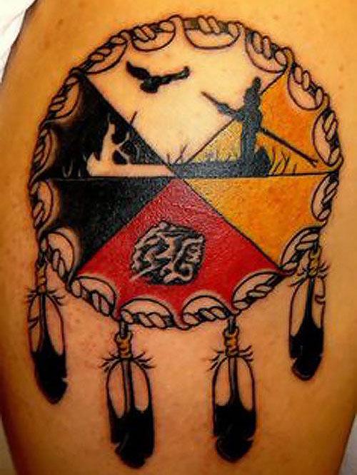 hình xăm bộ lạc-hình xăm bộ lạc Cherokee