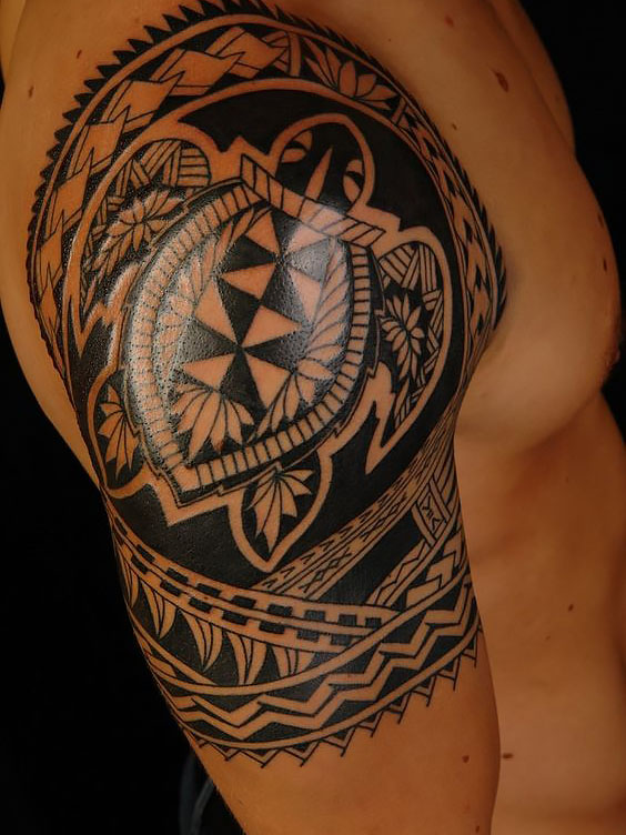 hình xăm bộ lạc-hình xăm bộ lạc Hawaii