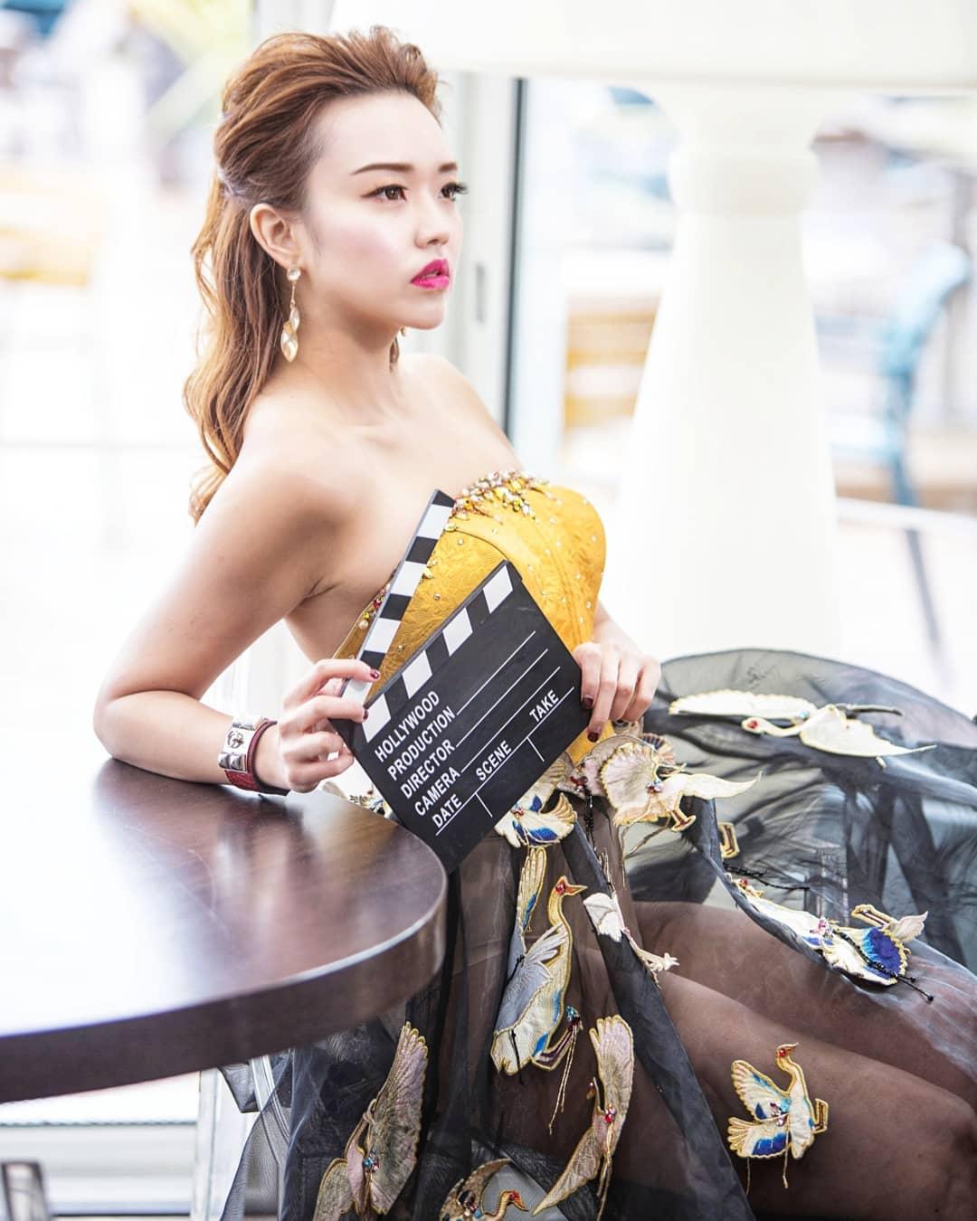 nữ dj xinh đẹp - nicole chen xinh đẹp