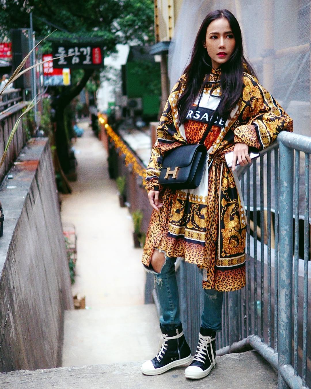 nữ dj xinh đẹp - roxy june tạo dáng chụp hình