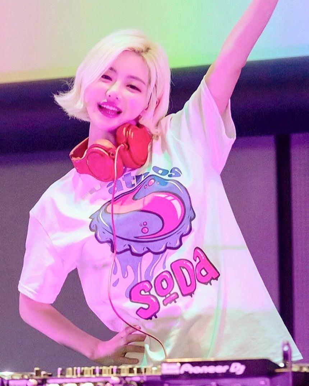nữ dj xinh đẹp - soda chơi nhạc