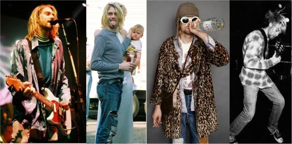thời trang của kurt-cobain
