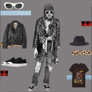 ELLE Man Style Calendar: Phá cách cùng phong cách Grunge