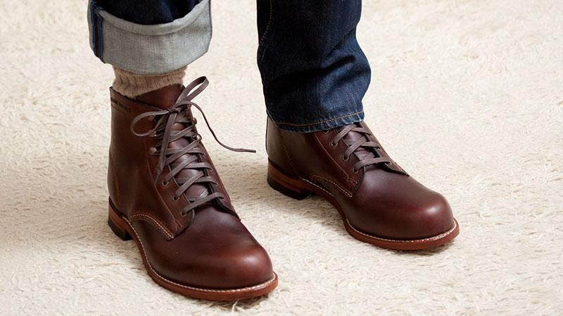 giày bốt nam - giày bốt wolverine