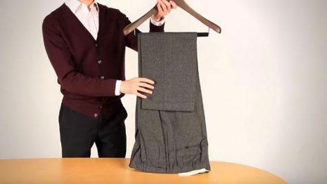 Học ngay 3 mẹo gấp quần áo cực hay dành cho các quý ông