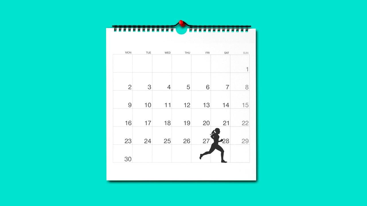 chạy bộ mỗi ngày cho nam giới theo lịch trình