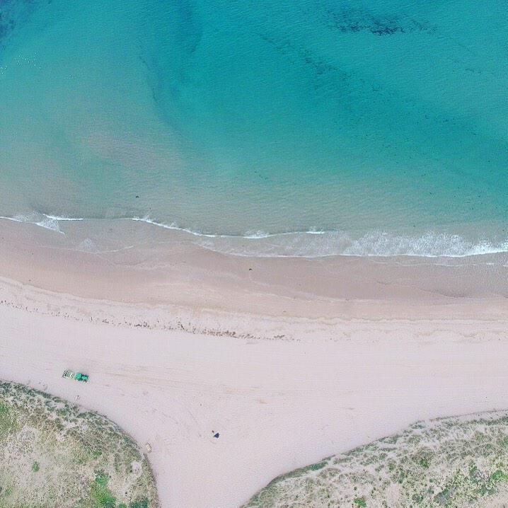 du lịch biển-biển bantham flycam