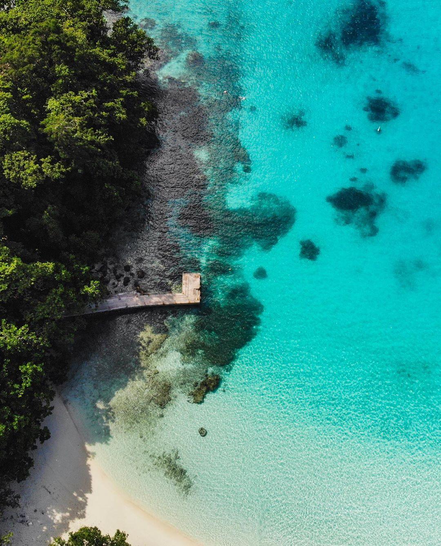 du lịch biển-biển champange flycam