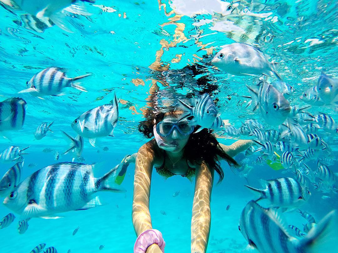 du lịch biển-lặn biển matira