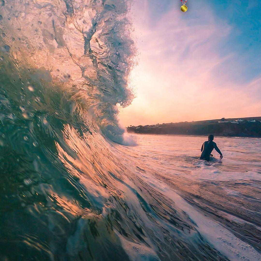 du lịch biển-lướt sóng trên biển bantham
