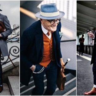 Phong cách thời trang sành điệu của fashionisto U80 người Đức