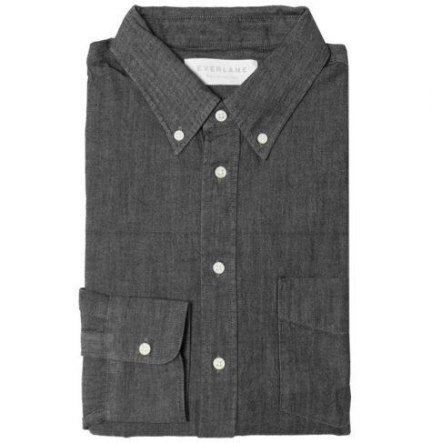 áo denim nam-Everlane Denim Shirt
