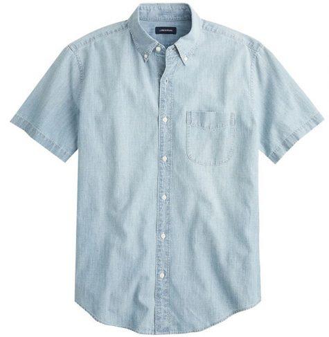 áo denim nam-J.Crew Chambray Shirt