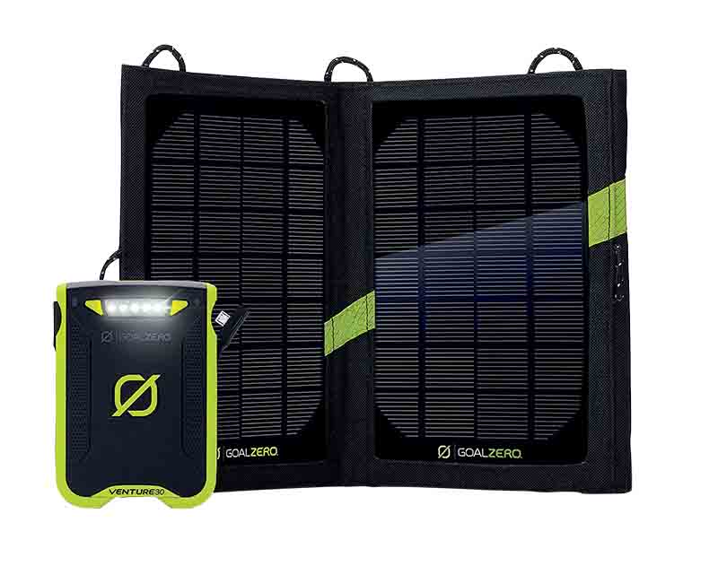 Bộ sạc năng lượng mặt trời Goal Zero Venture 30 + Nomad 7 Plus