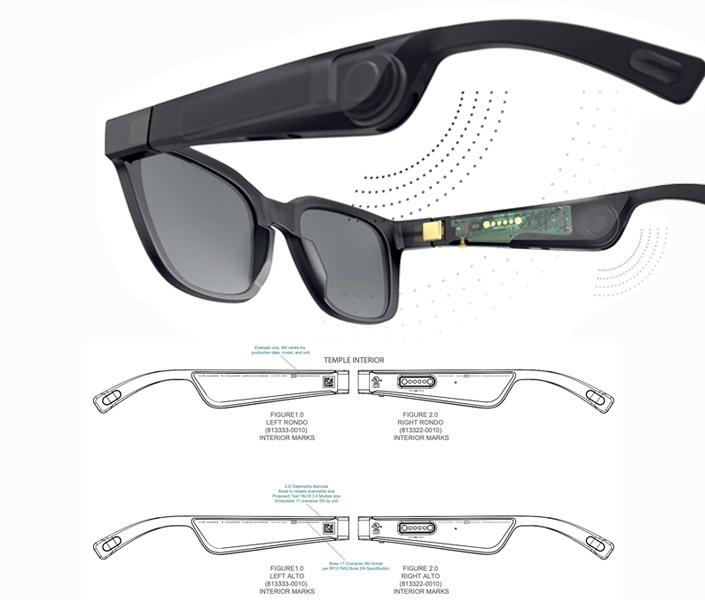 Kính mát tích hợp âm thanh thực tế ảo Bose Frame Rondo