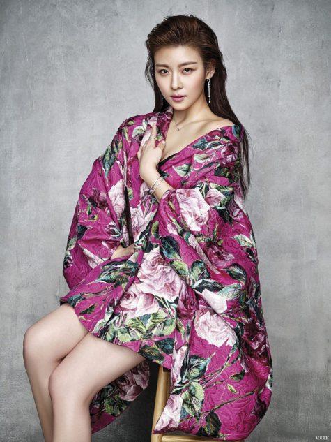 sao nữ cung Cự Giải Ha Ji won