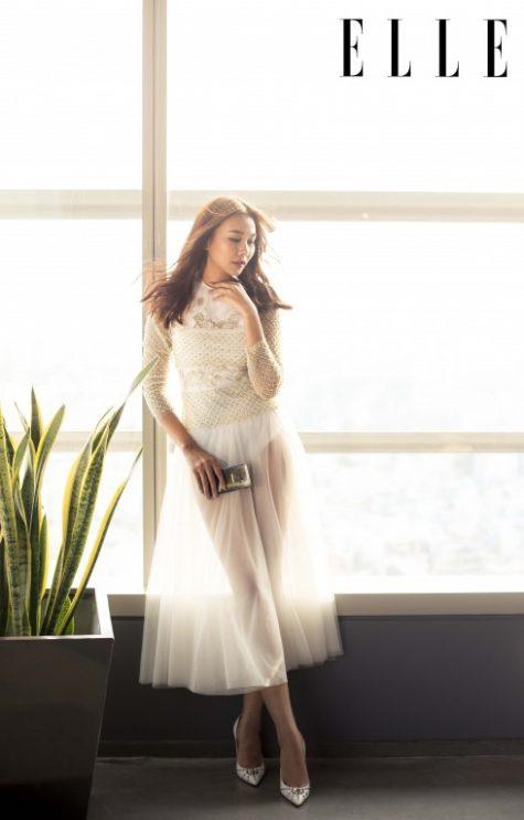 Siêu mẫu Thanh Hằng ELLE Magazine