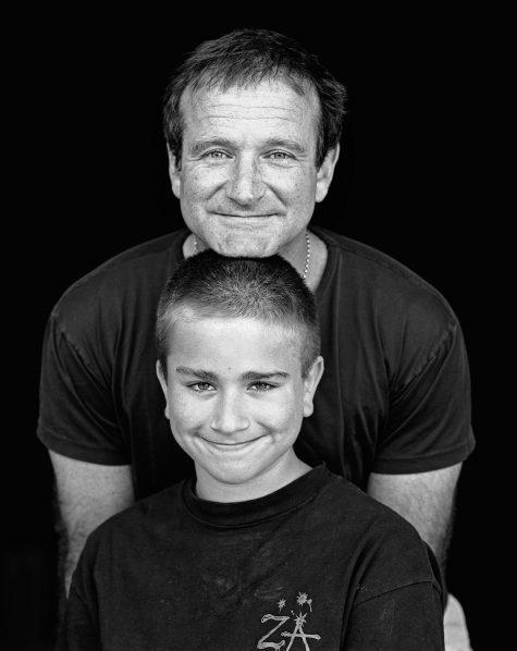 cố tài tử Robin Williams và con trai Zak