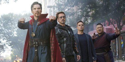 diễn viên Benedict Cumberbatch trong vai Doctor Strange Avenger Infinity War
