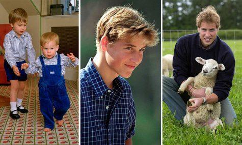 hoàng tử William hồi trẻ