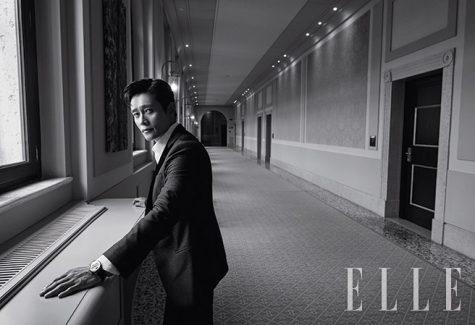 nam tài tử cung Cự giải Lee Byung-hun ELLE