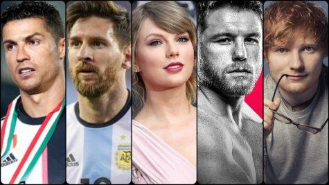 Top 10 ngôi sao giải trí có thu nhập khủng nhất thế giới năm 2019