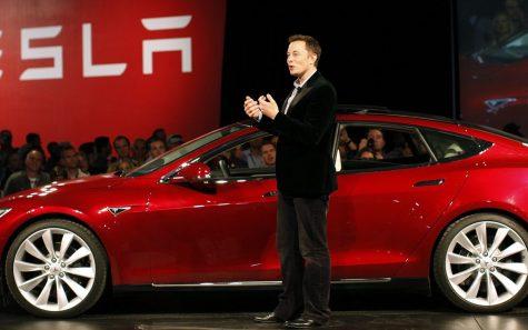 tỷ phú Elon Musk Tesla Model 3