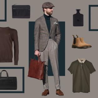 ELLE Man Style Calendar: Phong cách thời trang Business Casual cho ngày làm việc không nhàm chán